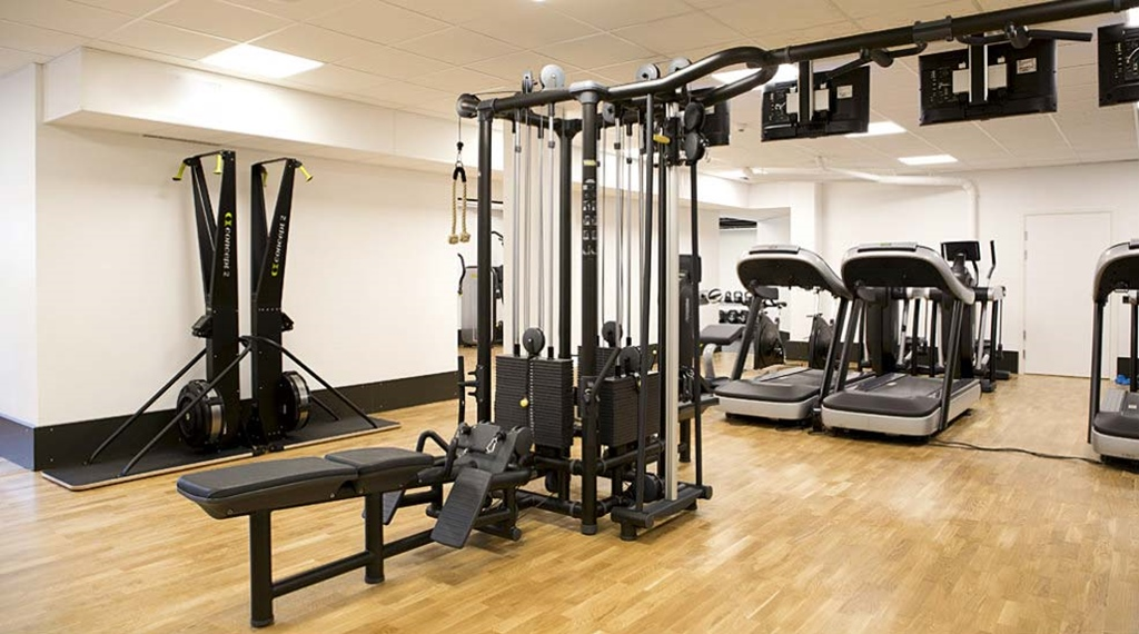 State of the art fitness gym at Quality Froso Park Hotel in Froson