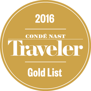 Award Conde Nast Gold List 2016