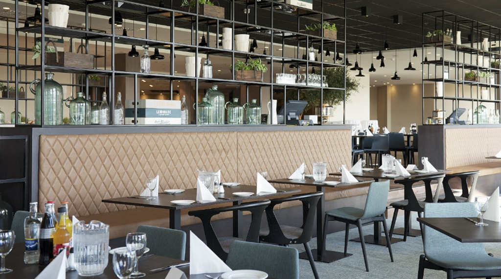 Hip restaurant at Quality Airport Hotel Stavanger