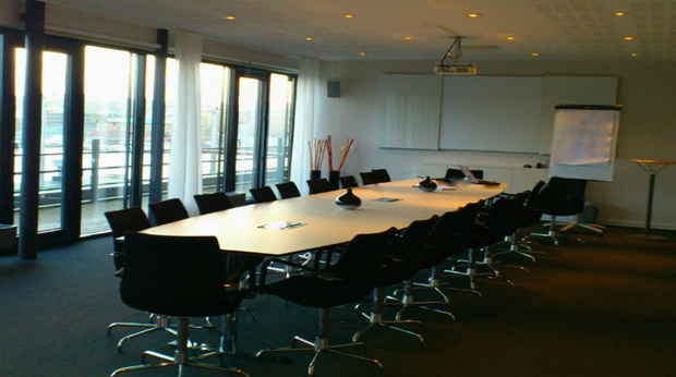 Boardroom style conference room at Quality Hotel 11 in Gothenburg