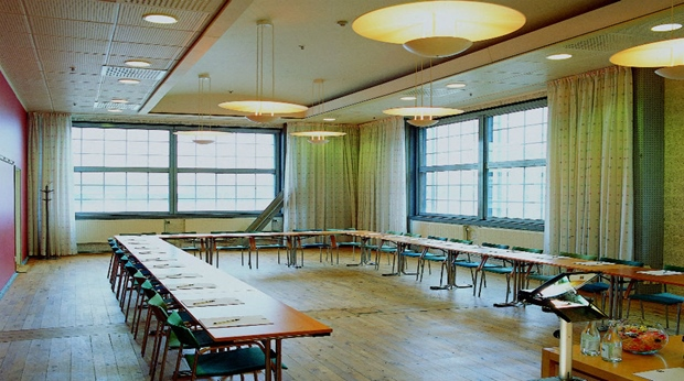 Bright and spacious conference room at Quality Hotel 11 in Gothenburg
