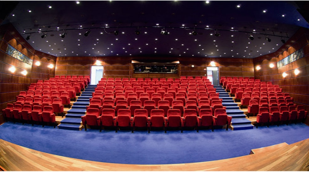 The Teater conference room with 188 theatre-style seats at Quality Hotel 11 in Gothenburg
