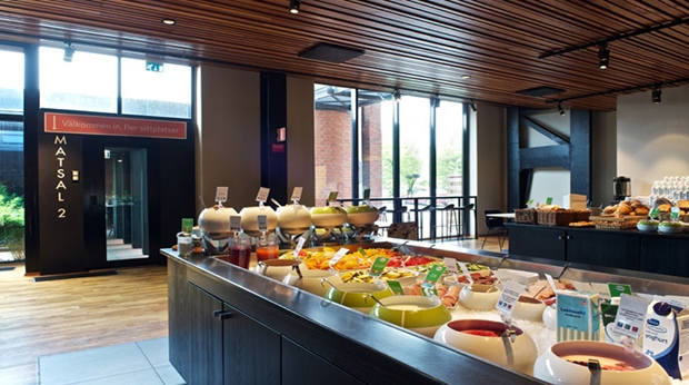 Take advantage of the extensive buffet at Quality Hotel 11 in Gothenburg