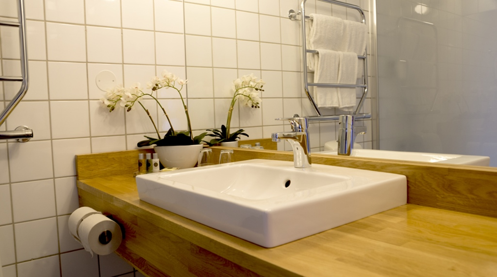 You are guaranteed state of the art hotel bathrooms at Quality Hotel 11 in Gothenburg