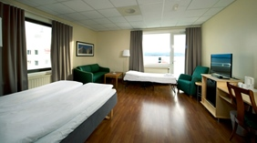 Large family hotel room with space for the whole family at Quality Alexandra Hotel in Molde