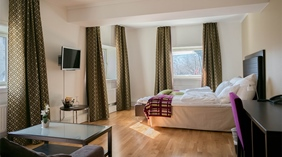 Grand hotel suite at Quality Augustin Hotel in Trondheim