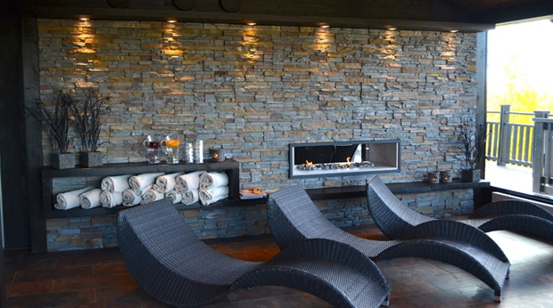 Relax in the spa lounge area at Quality Dalecarlia Hotel in Tallberg