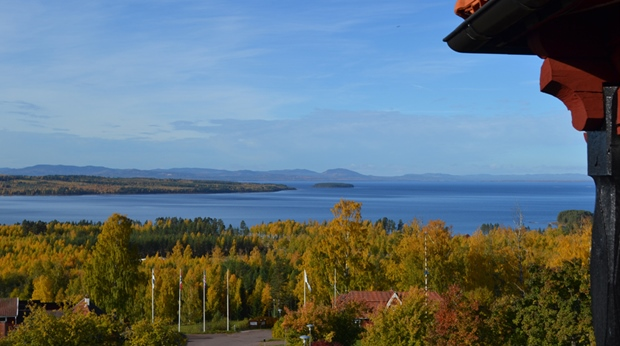 The perfect view of the Siljan lake at Quality Dalecarlia Hotel in Tallberg