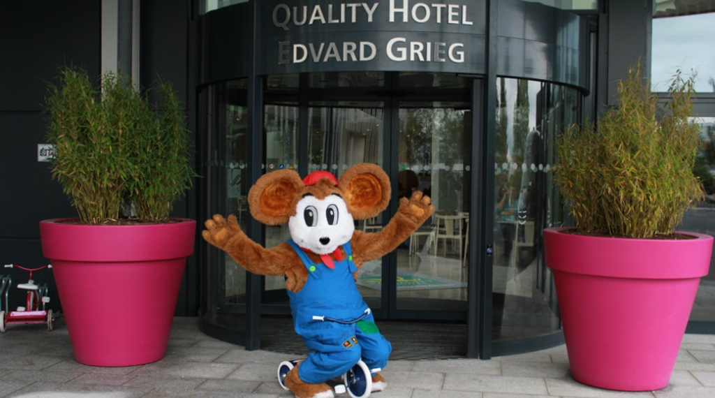 Quality Hotel Edvard Griegs mascot