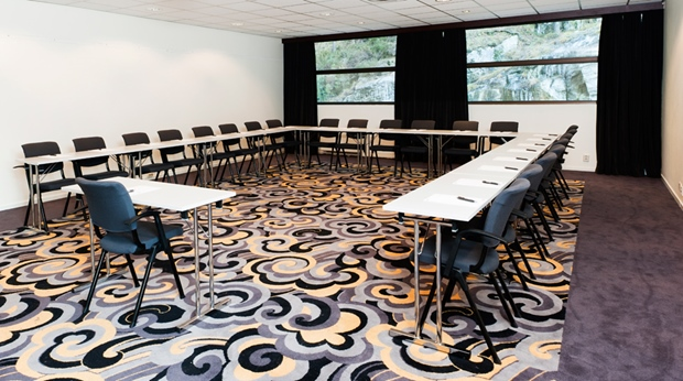One of several modern conference room facilities at Quality Mastemyr Hotel in Kolbotn