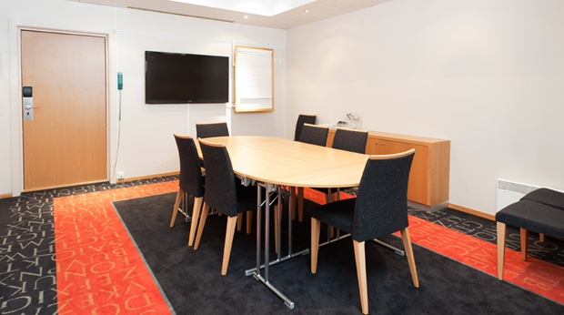 Modern and well-equipped meeting room at Quality Mastemyr Hotel in Kolbotn