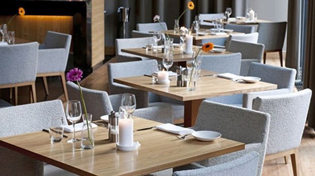 The hip restaurant at Quality Hotel Frederikstad