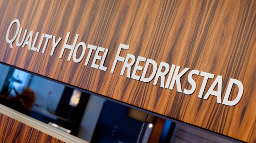 The reception at Quality Hotel Frederikstad