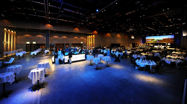 The Events Hall with a combined floor space of 2,000 m2 at Quality Hotel Friends in Solna