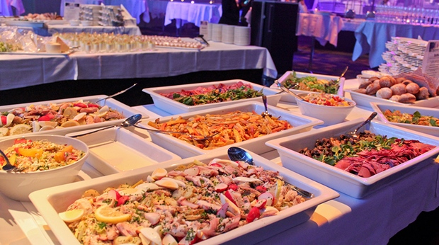 Buffet at Quality Hotel Friends in Solna