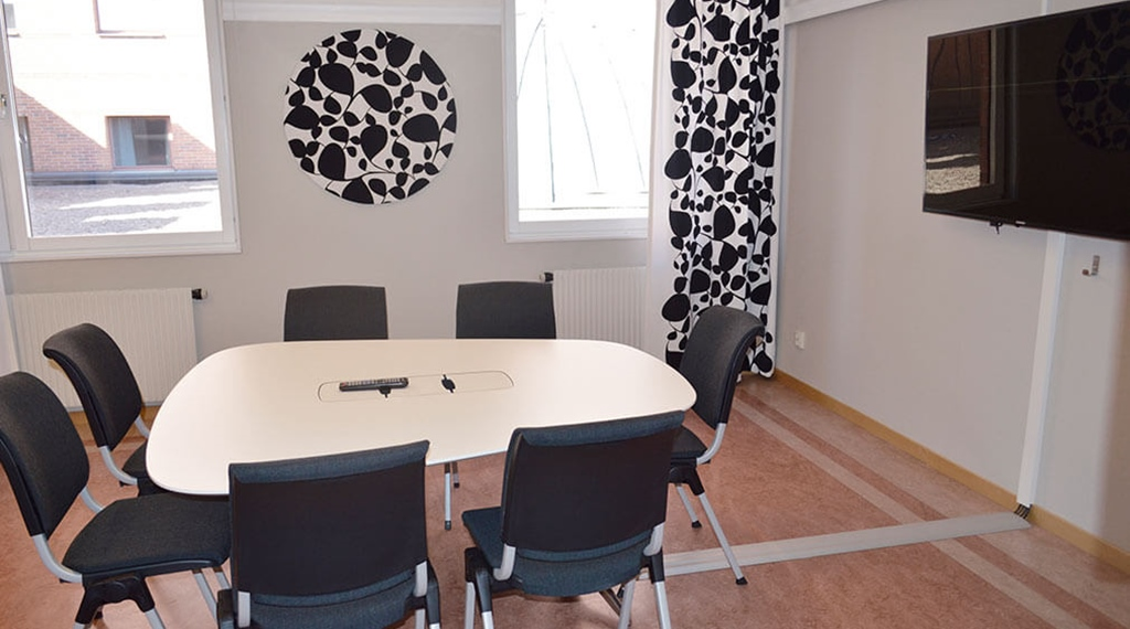 Meeting room Six with space for eight people at Quality Hotel Galaxen in Borlänge