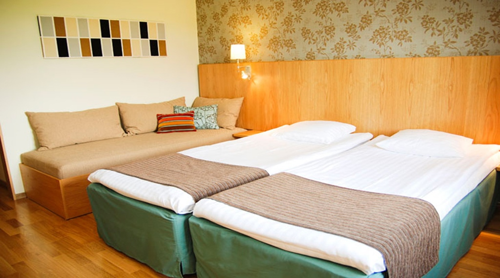 Family hotel room at Quality Galaxen Hotel in Borlange