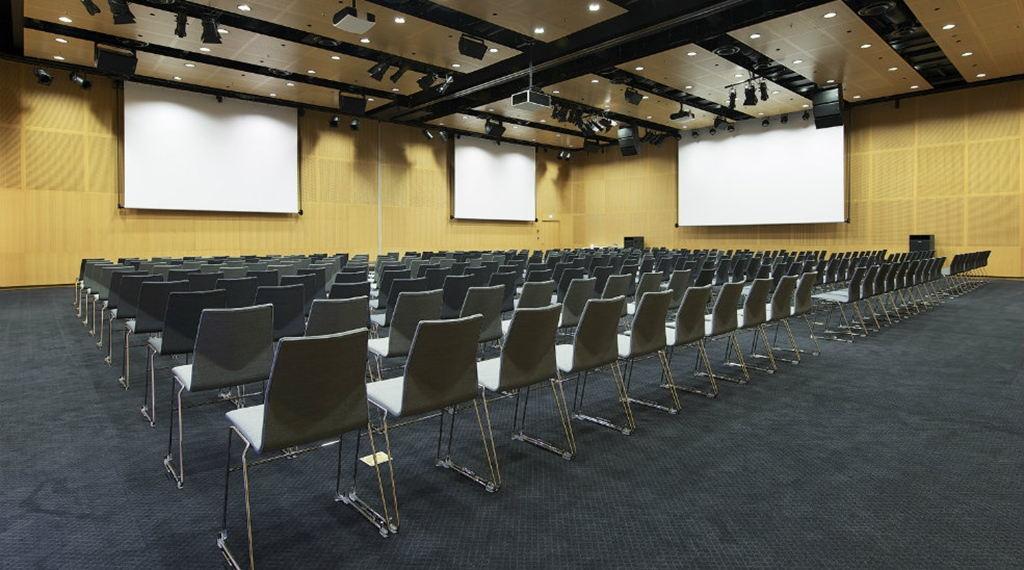 The Galaxen conference room with space for 400 people at Quality Globe Hotel in Stockholm