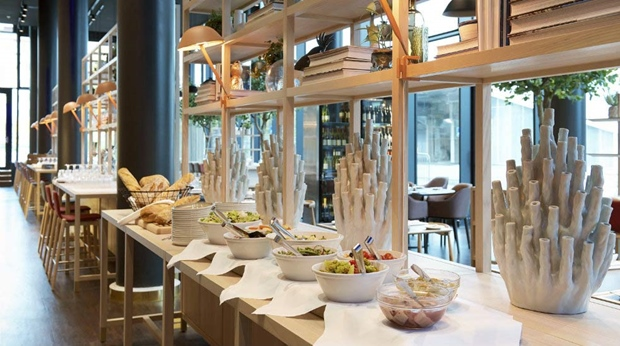 The first-class restaurant Brasserie X at Quality Globe Hotel in Stockholm