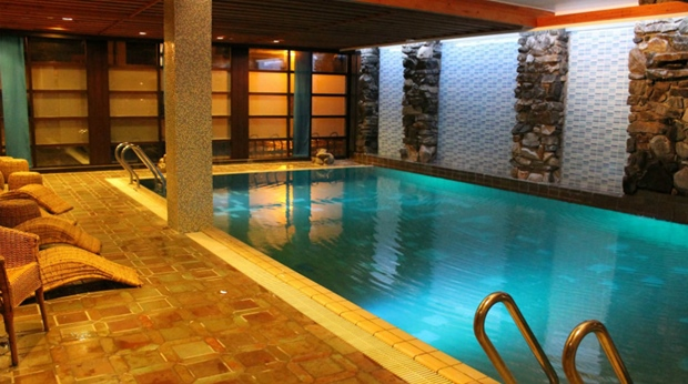 Spa pool at Quality Grand Hotel Kongsberg