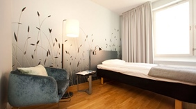 Chic single room at Quality Grand Hotel Kristianstad