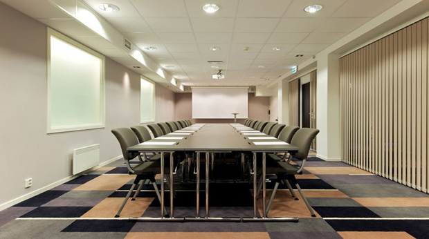Large state of the art meeting room facility at Quality Grand Hotel in Kristiansund
