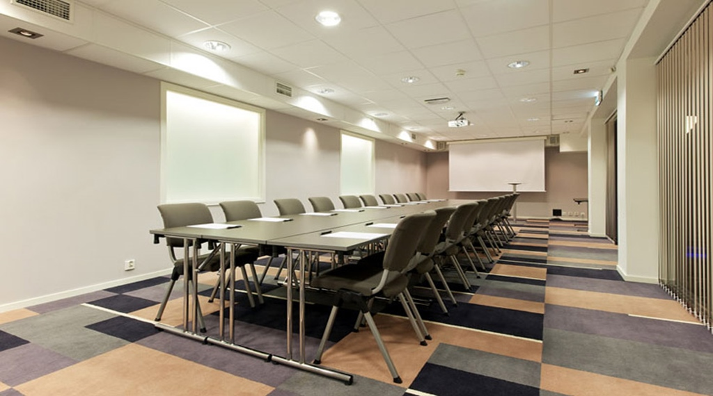 Large state of the art meeting room at Quality Grand Hotel Kristianstad