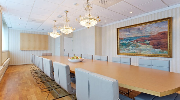 Classy hotel meeting room at Quality Grand Hotel in Kristiansund