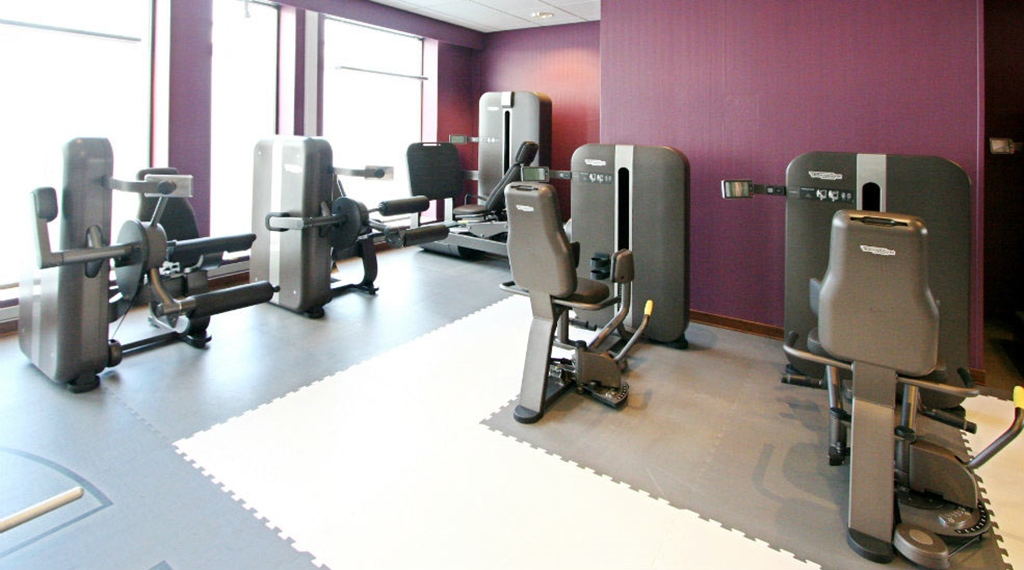 State of the art hotel gym at Quality Grand Hotel in Kristiansund