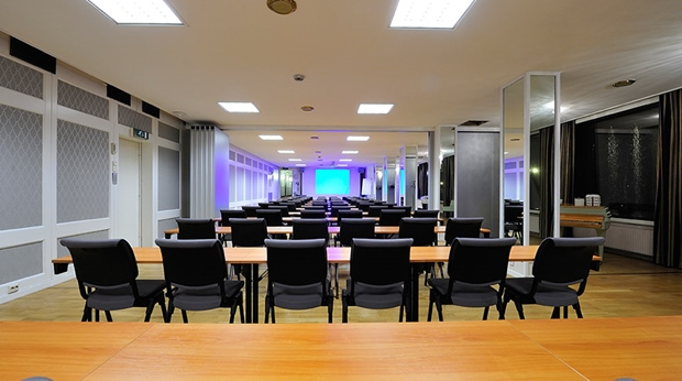 Well-equipped conference room at Quality Grand Hotel in Narvik