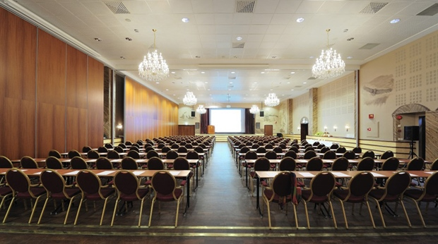 The Royal Hall conference room at Quality Grand Hotel in Narvik