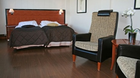 Classy and comfortable family hotel room Quality Grand Hotel in Narvik