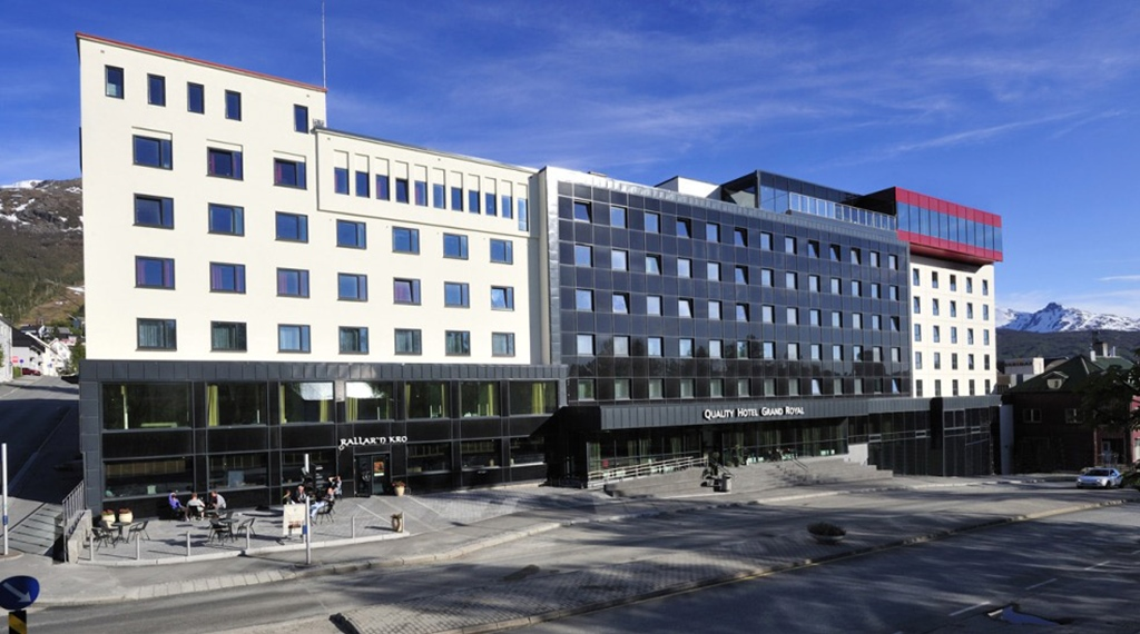 Looking for a conference hotel with the ideal location in Narvik? Check out the Quality Grand Hotel in Narvik