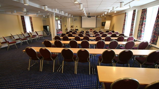 Modern and well-equipped conference facility at Quality Klubben Hotel in Tonsberg