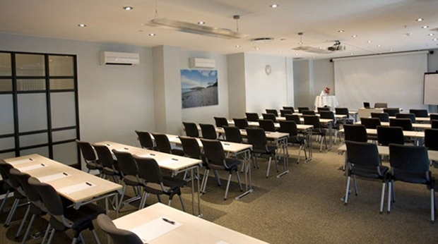An example of one of several modern hotel conference facilities at Quality Klubben Hotel in Tonsberg
