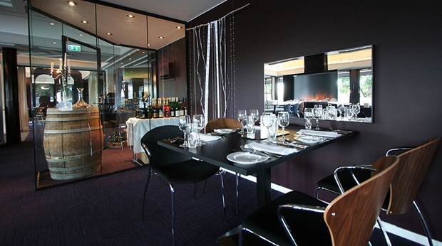 Elegant restaurant at Quality Klubben Hotel in Tonsberg