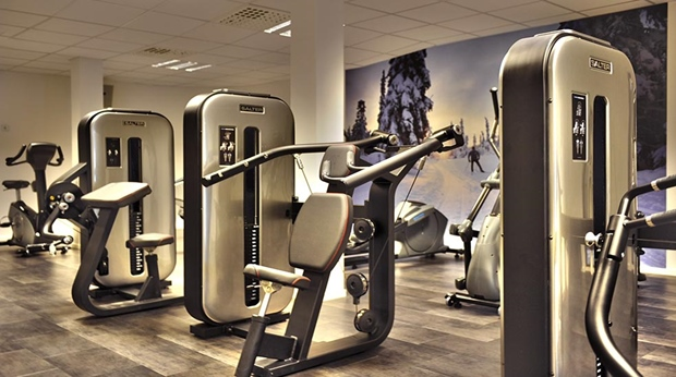 Take advantage of the superb gym facilities at Quality Lapland Hotel in Gallivare