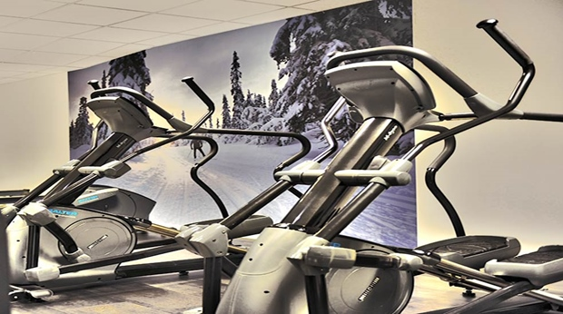 Try the extraordinarily well-equipped hotel gym facility at Quality Lapland Hotel in Gallivare