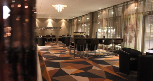 Stylish and well-furnished lobby at Quality Hotel Lulea