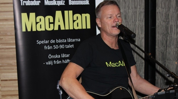 Live music with MacAllan at Quality Hotel Lulea