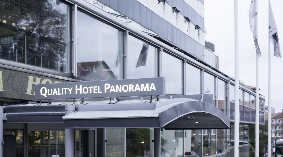 Facilities quality hotel panorama gothenburg for Hotel panorama