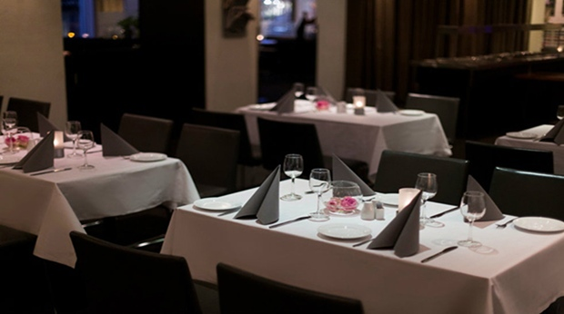 The elegant and tranquil hotel restaurant at Quality Residence Hotel in Sandnes