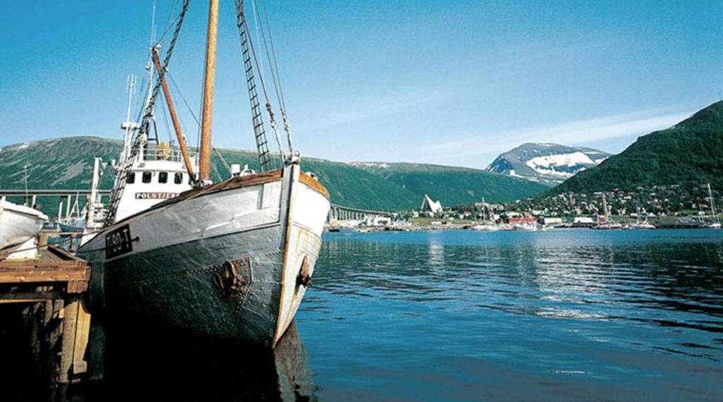 The perfect location by the habour at Quality Saga Hotel in Tromso