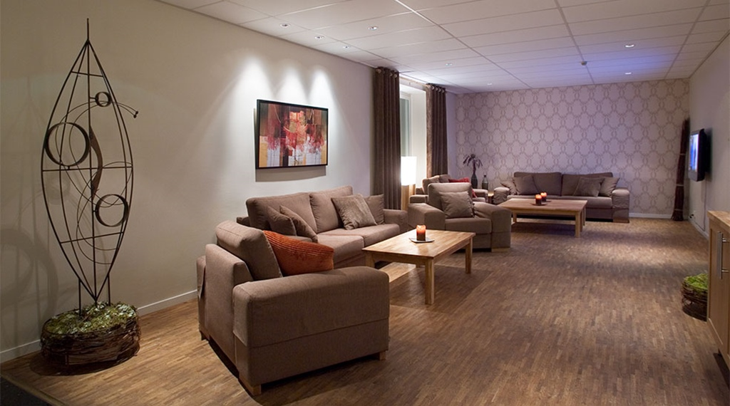Extraordinarily comfortable and peaceful lounge at Quality Stadshotell Hotel in Skelleftea