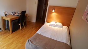 Spacious and well-designed superior single room at Quality Stadshotell Hotel in Skelleftea