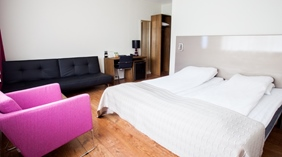 Hip and comfortable superior twin room at Quality Hotel Sogndal