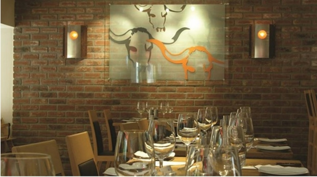 The US-style Big Horn Steakhouse restaurant at Quality Strand Hotel in Gjovik