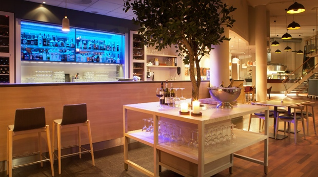 The bar at Quality Tonsberg Hotel
