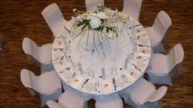 Elegant wedding catering at Quality Ulstein Hotel in Ulsteinvik