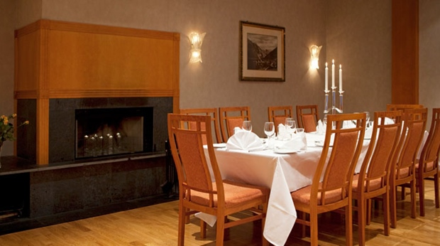 Tranquil dining room at Quality Voringfoss Hotel in Eidfjord